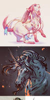 Digital Sketches by akreon