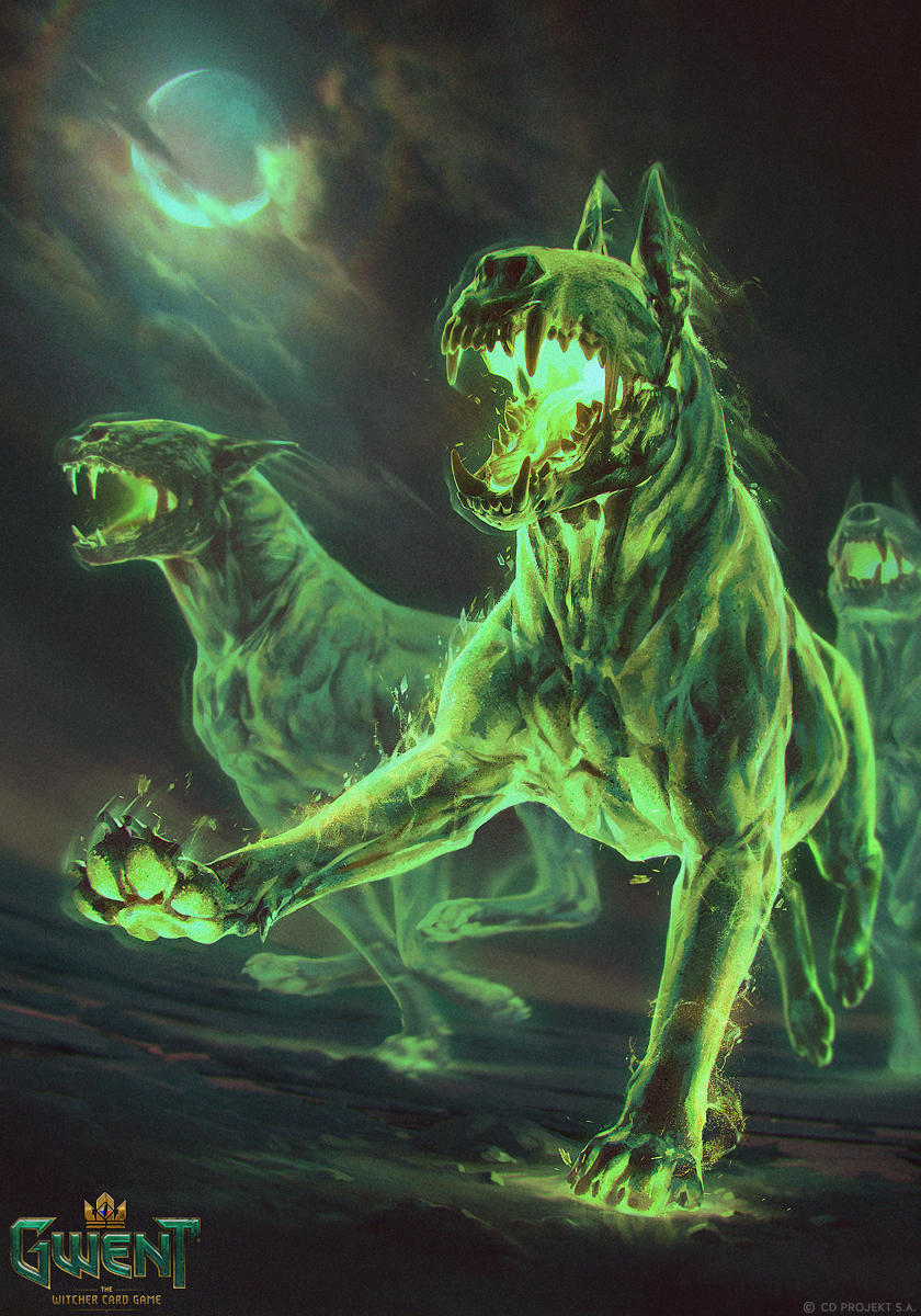 Barghest - Gwent Card by akreon