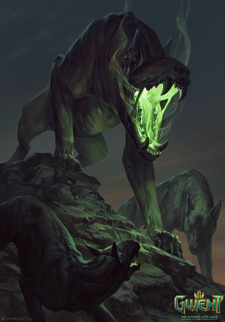 The Beast - Gwent Card by akreon