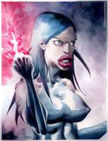 Psylocke by rogercruz