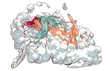 Angel - Nudes In Fury by rogercruz