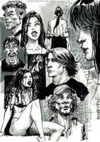Xampu vol2 Sketches by rogercruz