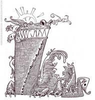 Dragon Text Inks by rogercruz