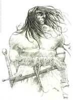 Conan pencils by rogercruz