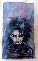 Sketchbook/watercolor/the crow by rogercruz