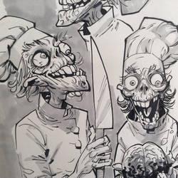 INSTAGRAM zombiechef by rogercruz