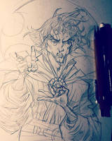 Dr Strange by rogercruz