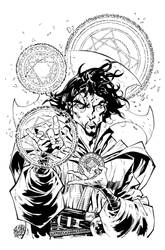 Doctor Strange - High Resolution by rogercruz