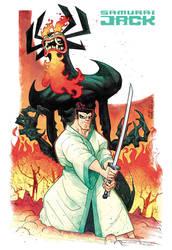 Samurai Jack by rogercruz