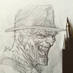 Freddy sketchbook by rogercruz