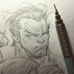 Namor Sketchbook by rogercruz