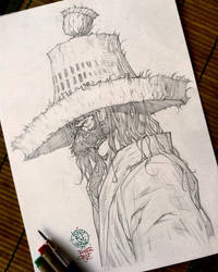 Mysterious Drifter by rogercruz
