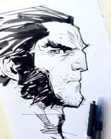 Logan Sketchbook by rogercruz