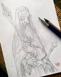 Gandalf the white by rogercruz