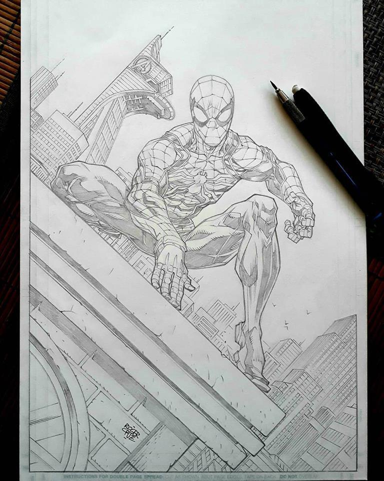 Spider Man 24 Oct 2018 by rogercruz