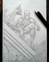 Spider Man 24 Oct 2018 by rogercruz