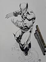Wolverine 2018 Inks by rogercruz