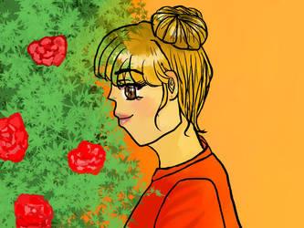 Garden Of Roses by Sarah-Swan