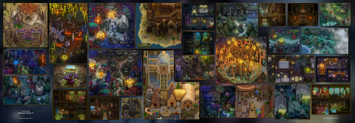Aedemphia Selected Places IV by Sylvanor