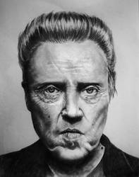 Christopher Walken by JuliaBadeeva