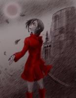 Blood+ Saya by CrimsonLunacy