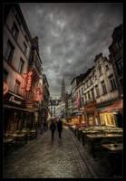 Bruxelles street III by zardo
