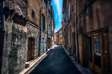 Provence street II by zardo
