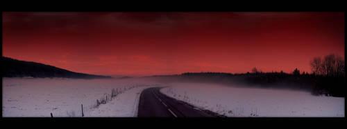 Bloody sky by zardo