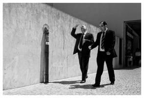 Mr. Nasdaq and Mr. Dow Jones by NunoCanha