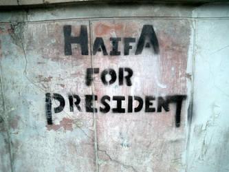 Haifa For President by tuqann