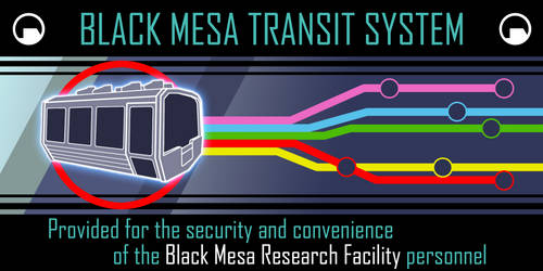 Black Mesa Transit System by adamayo