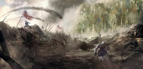 Battle by matty17art