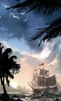 Caribbean 1600's by matty17art