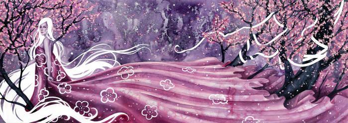 Sakura by kellymckernan