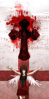 + Crimson Cross + by Flutterby727