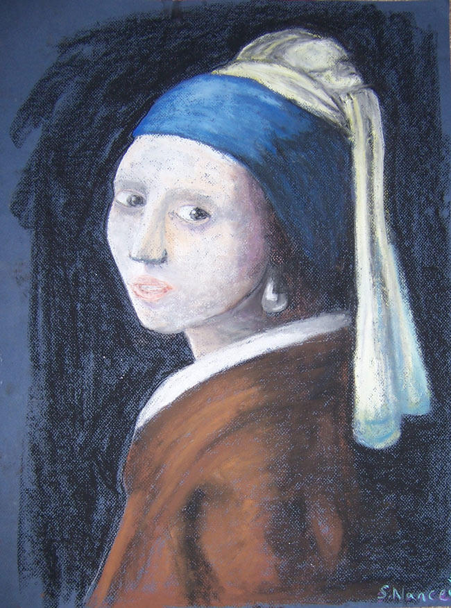 Girl with a Pearl Earring by Flutterby727
