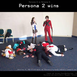 Persona 2 wins by Flutterby727