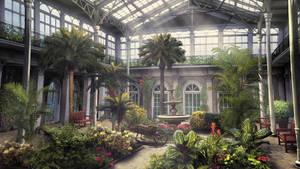Garden by Montezuma-original
