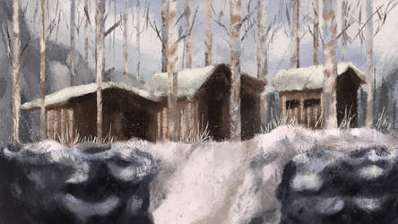 Snow Village by agustinstep