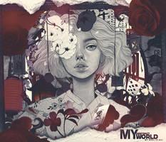 [Collab] My abstract world w/SrNicc by Neksuke