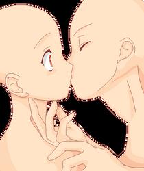 Base: Surprise kiss by OmoriP