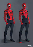 The Spiderman by leotyler