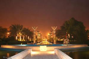 Hotel Dariush at night by monib