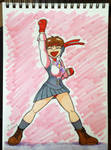 Sakura Kasugano Street Fighter V by keidashu