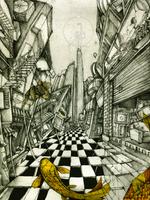 Alleyway by Thecreakyattic