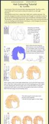 Hair Colouring Tutorial ~SAI~ by Annabel-m