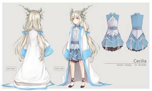 COM - Character sheet/design - Acerailgun by Annabel-m