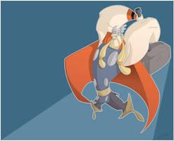 Thor by leocartunista