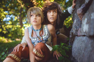 Zelda Twilight Princess - Hiding from King Bulbin by UltraCosplay