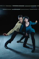 StarTrek-Cosplay-Spock-Kirk by UltraCosplay